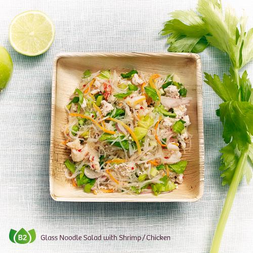B2 Yam Woon Sen Glass Noodle Salad with Shrimp Chicken